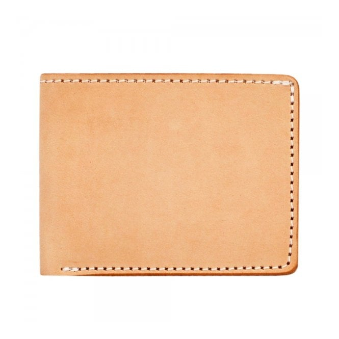 Tanner Goods Utility Bifold Natural Leather Wallet 17458