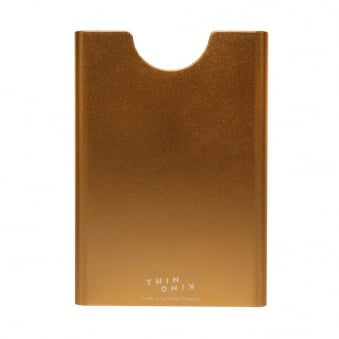 Thin King Champagne Card Holder 1083