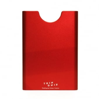 Thin King Red Card Holder 1084