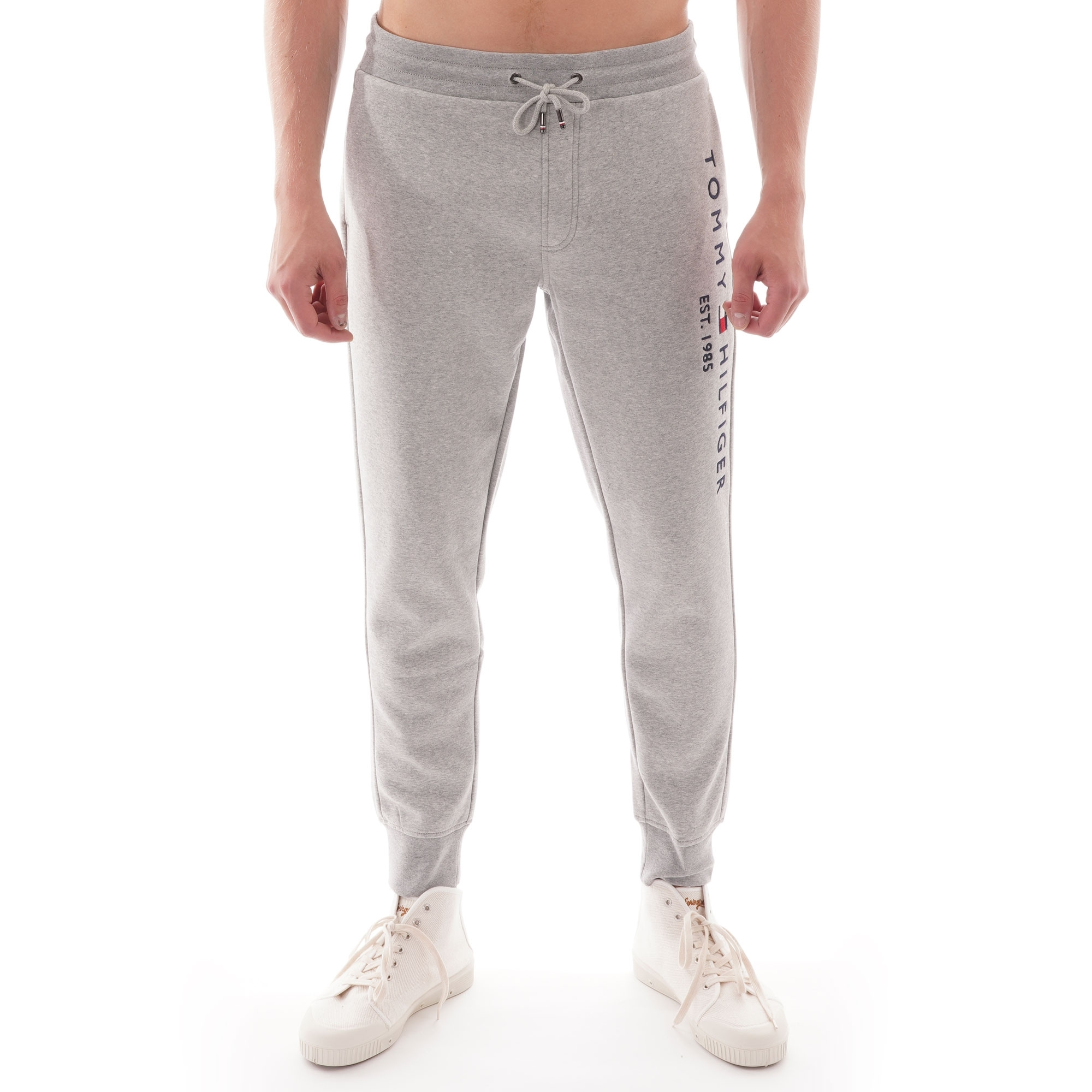 Tommy Hilfiger Icon Sweatpants in Grey Heather tracksuit bottoms joggers