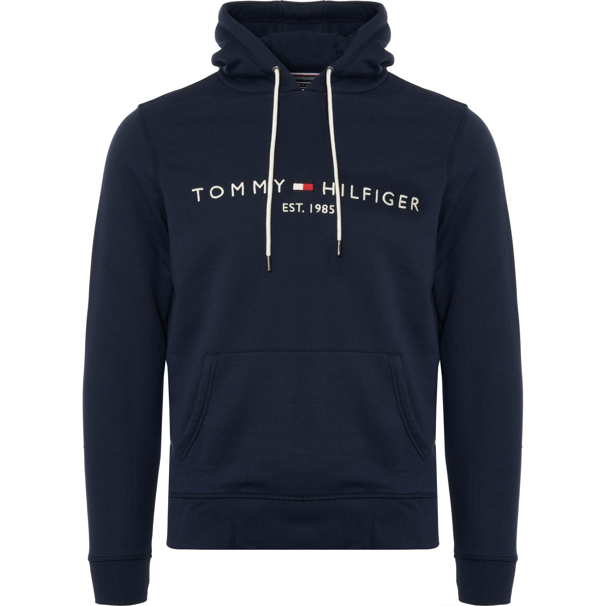 7877ac7d Tommy Hilfiger Tommy Logo Hoodie | Navy | MW0MW07609