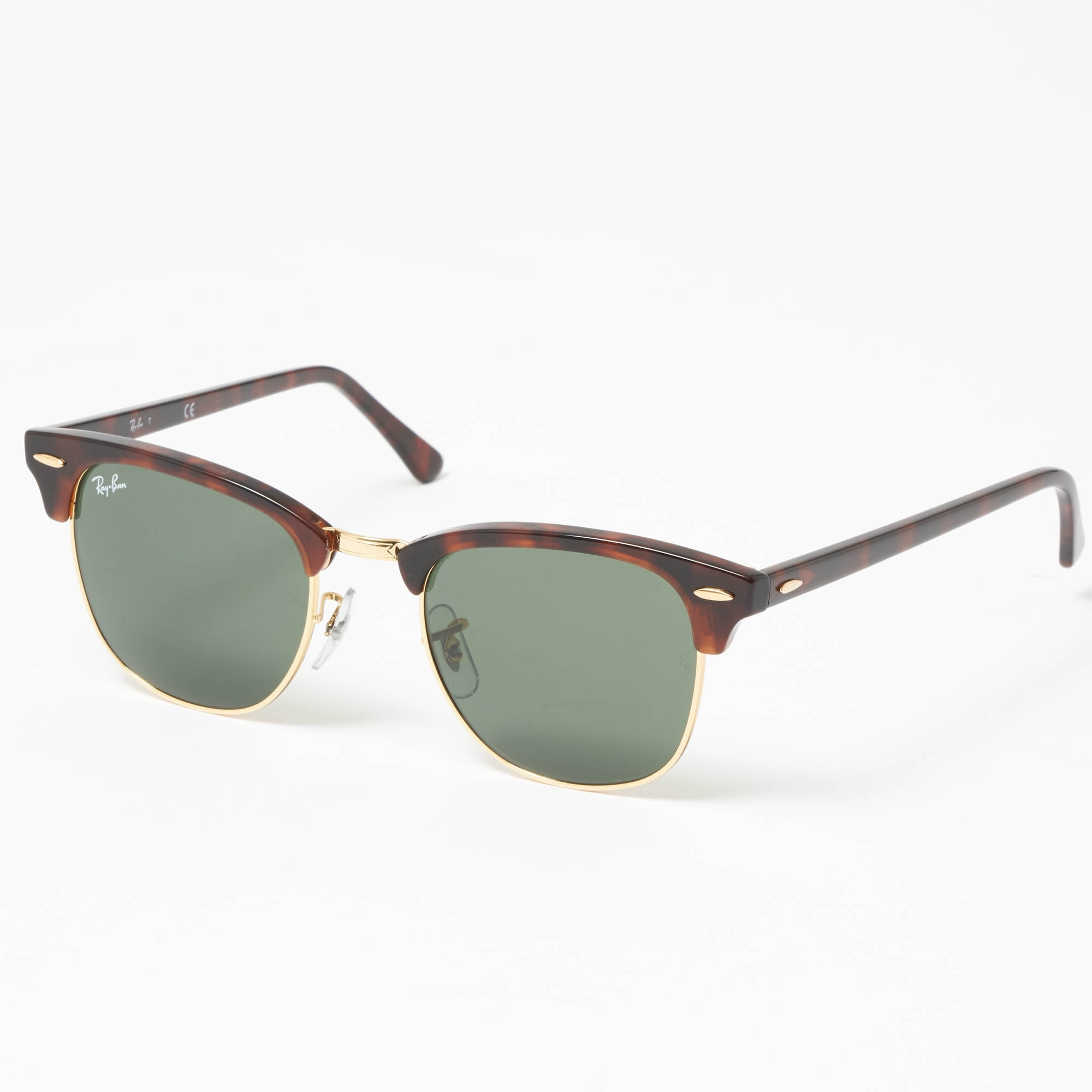73ee9d20a Tortoise Classic Clubmaster Sunglasses - Classic G15 lenses