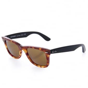 77922ab5f34 Tortoise Original Wayfarer Fleck Sunglasses - Classic Brown Lenses