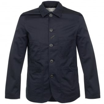 Universal Works Bakers Navy Twill Jacket 16102