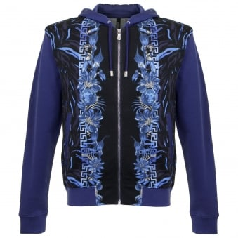 Versace Lion Head Berry Track Top BU90330