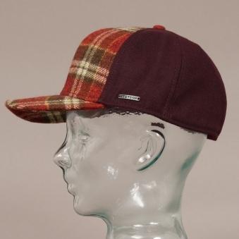 79aaf6955e8 Virgin Wool Trucker Cap - Red Check