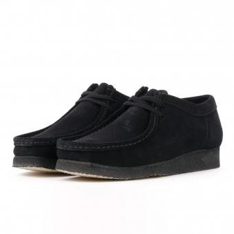 6d329a7cf Wallabee - Black Suede. Clarks Originals ...