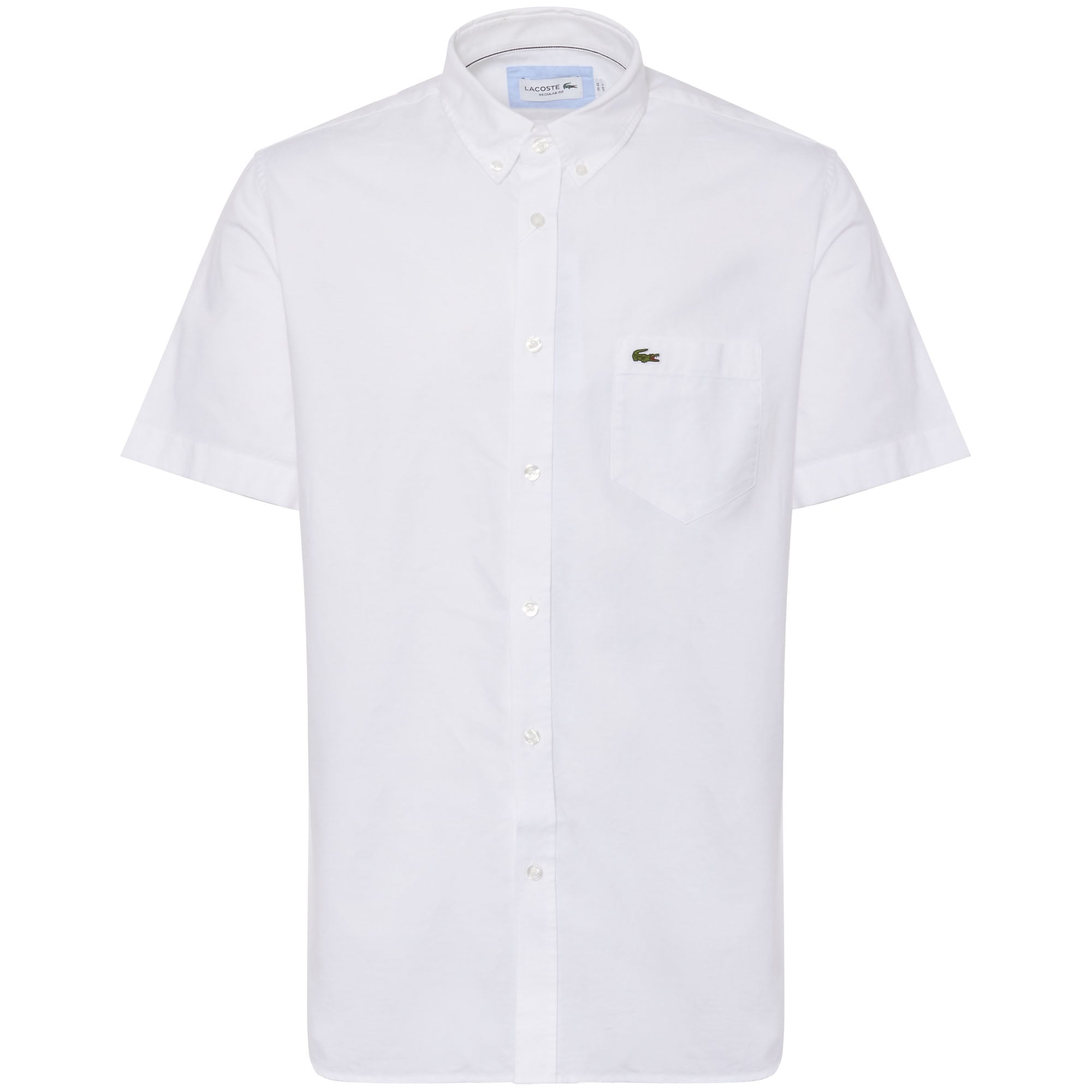 1eed4f05 White Short Sleeve Oxford Shirt