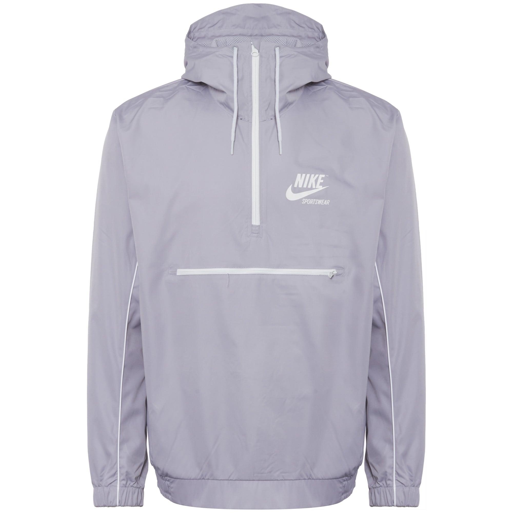 aa2d4b06c Nike Wolf Grey Woven Archive Jacket 941877 | Stuarts London