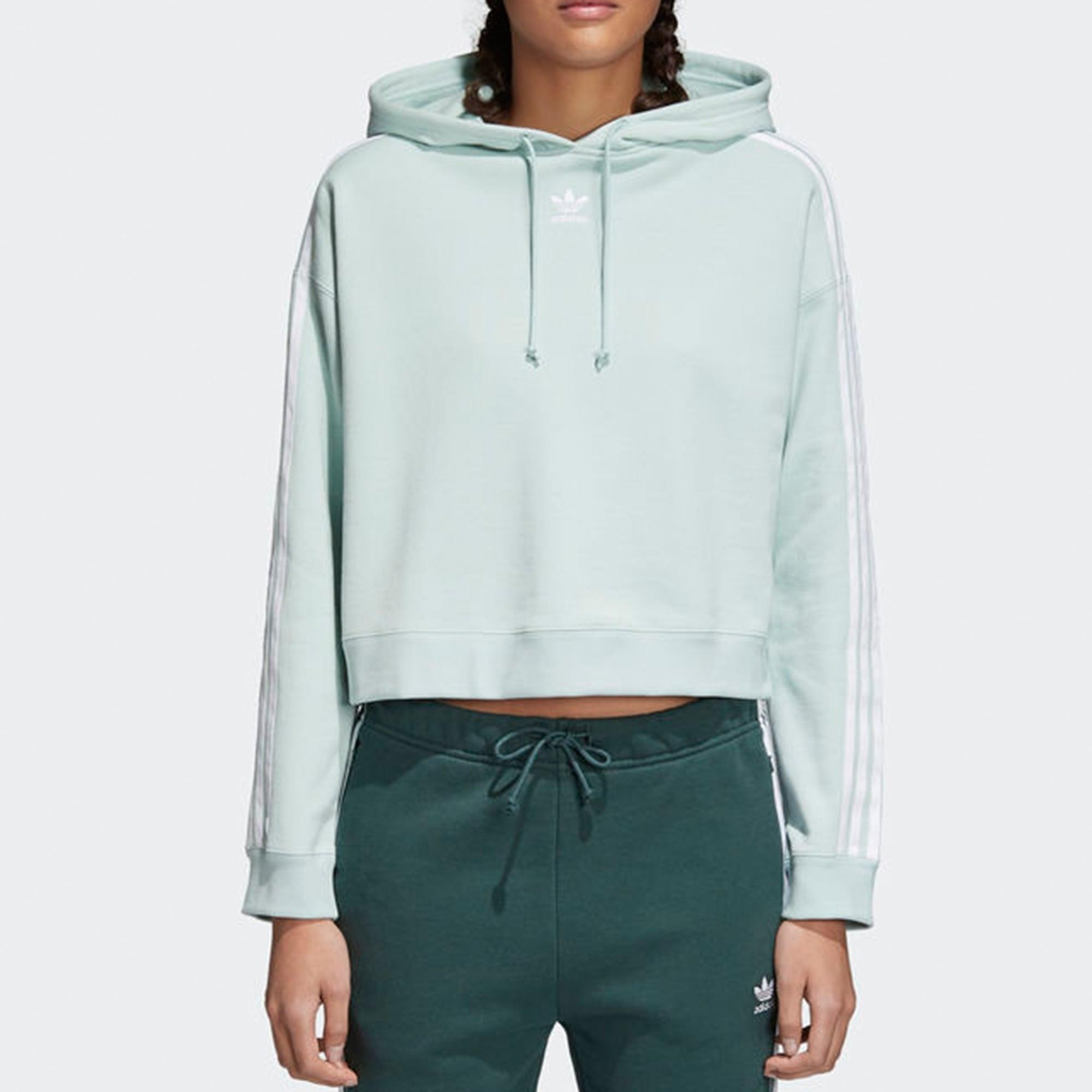 b4dd72b55c8 Adidas Originals Womens Cropped Hoodie