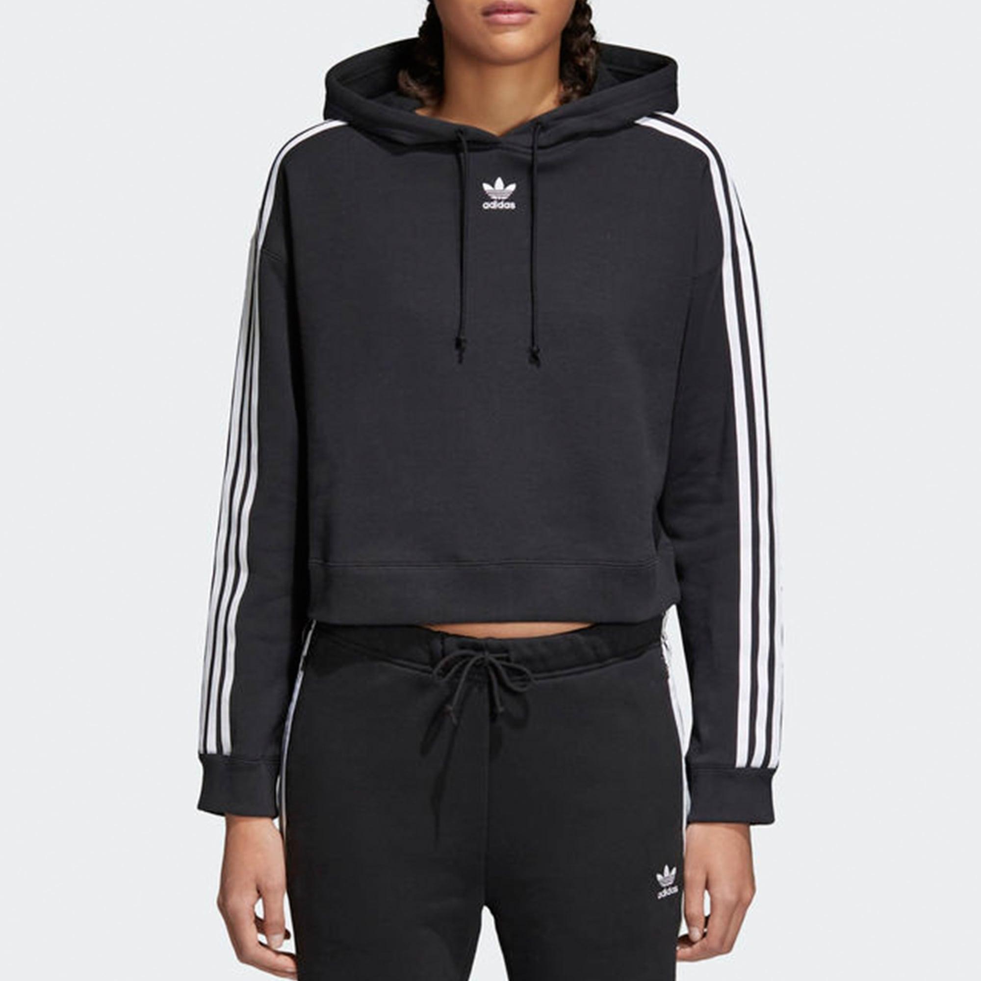 4c70757cc6b0c Adidas Originals Womens Cropped Hoodie