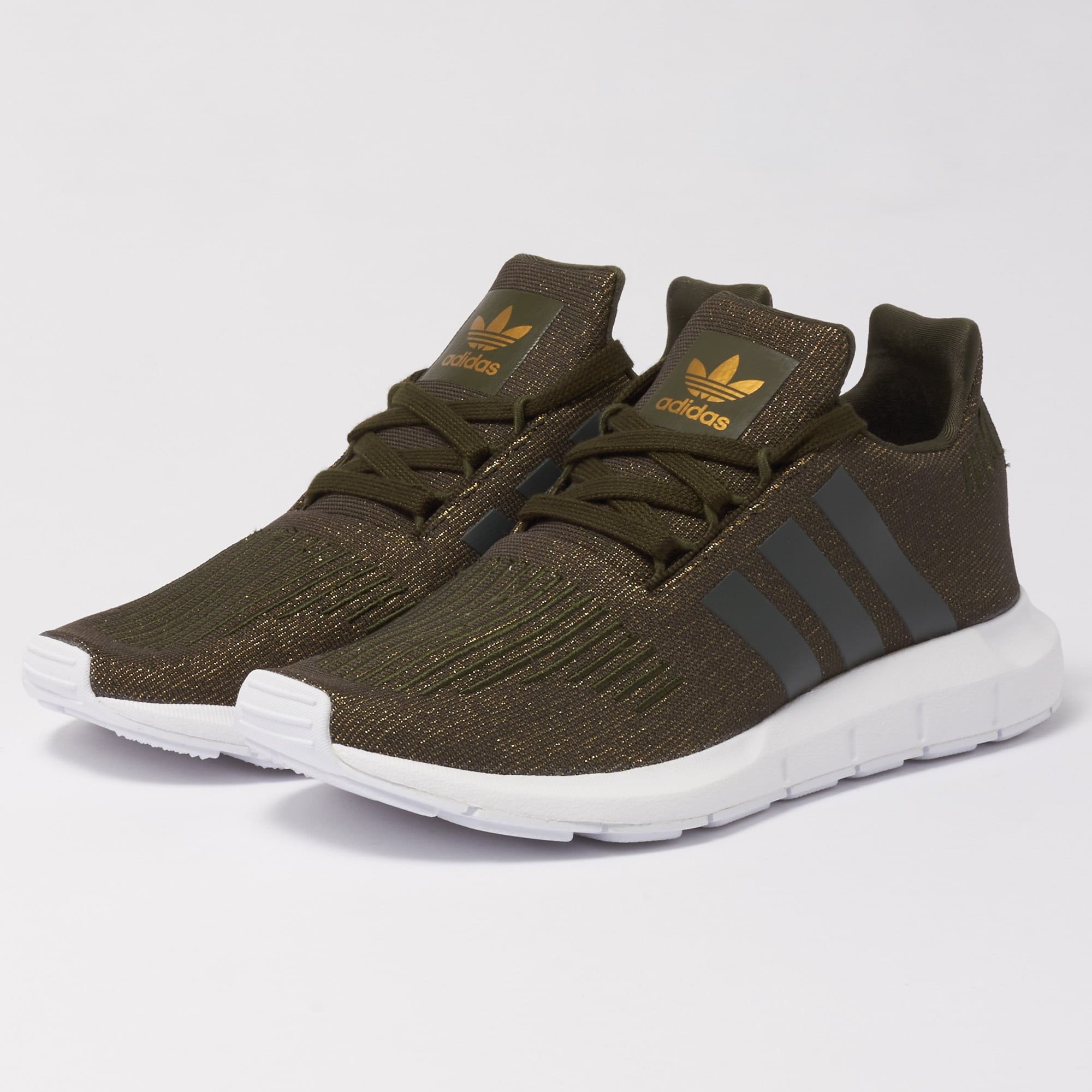 pretty cheap shop limited guantity adidas Originals Womens Swift Run Trainers - Night Cargo