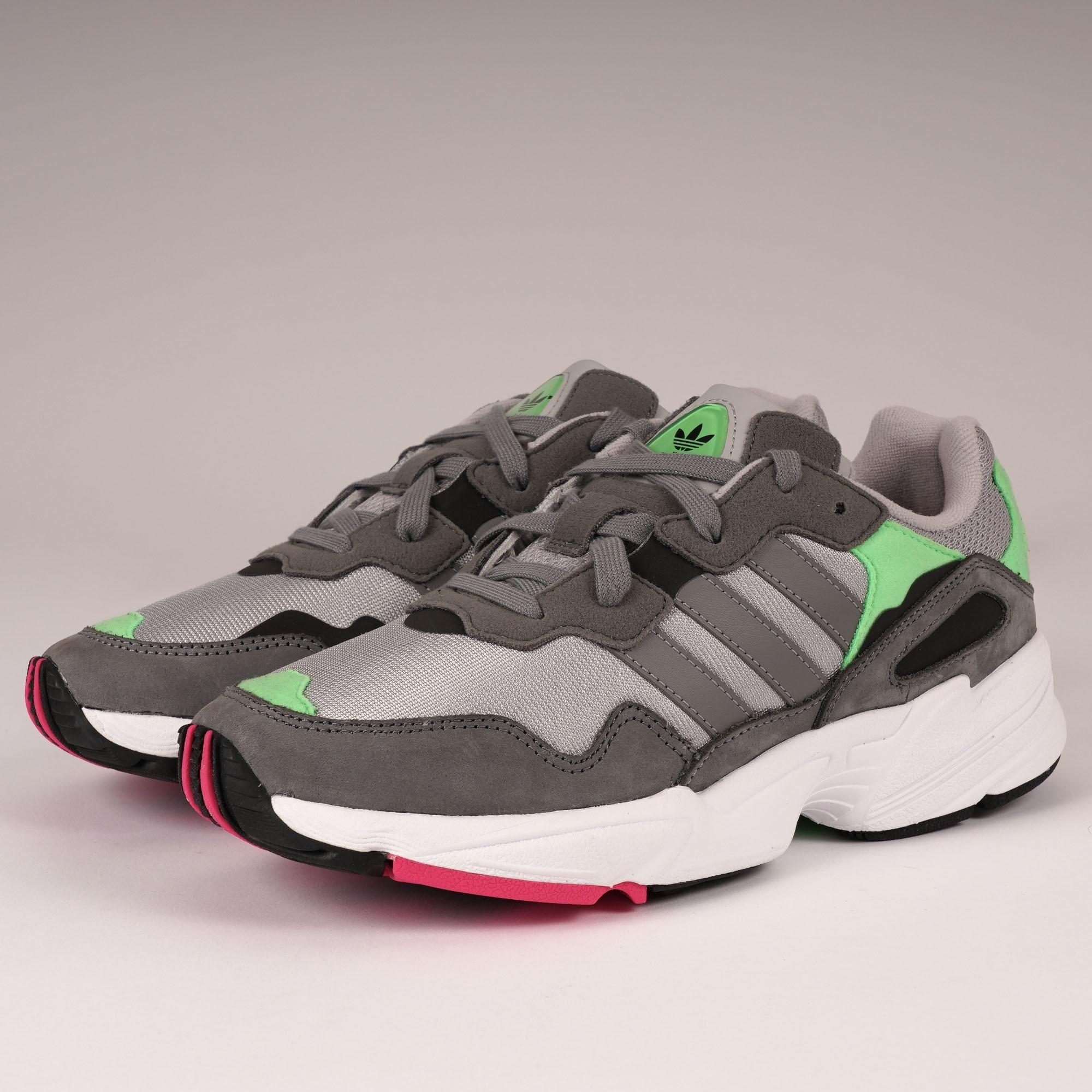 adidas Originals Yung 96 Grey Two, Grey Three & Shock Pink